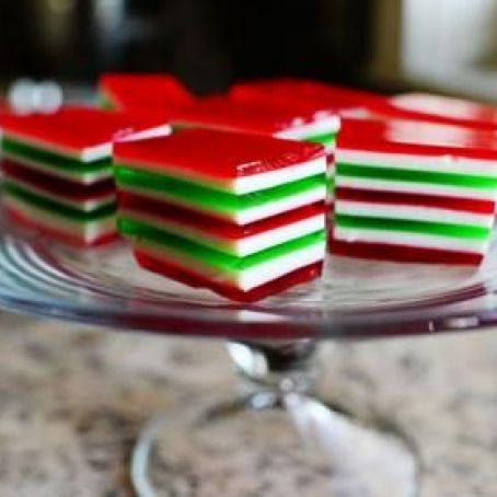 Christmas Finger Jello