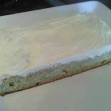 Gluten Free Banana Bars with Cream Cheese Frosting