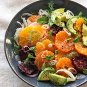 Citrus Fennel and Avocado Salad