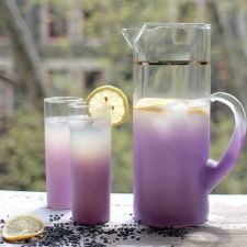 Lavender Lemonade with Honey