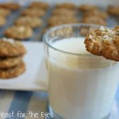 Vanilla Sea Salted Peanut Cookies