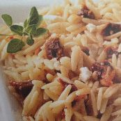 Creamy Orzo with Feta & Sun-Dried Tomatoes