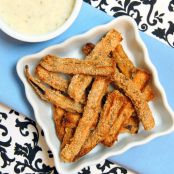Eggplant Fries with Dipping Sauce