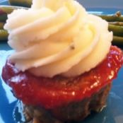 Meatloaf & Mashed Potato Cupcakes