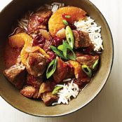 Orange Cranberry Pork Stew