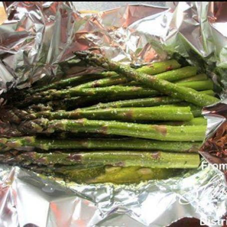 Asparagus Foil Packet for the Grill