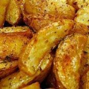 Oven Roasted Yukon Potato Wedges