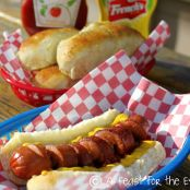 Best Homemade Hot Dog Buns-- In An Hour!