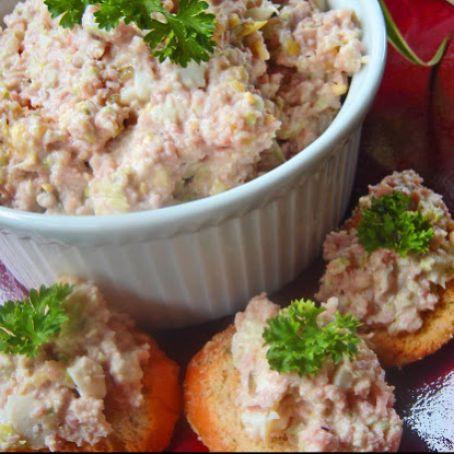 Paula Deen S Best Ham Salad Sandwich Recipe 4 5 5