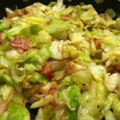 Cabbage: Fried Cabbage with Bacon and Onions