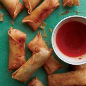 Spring Rolls with Pork & Glass Noodles