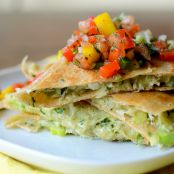 Crab & Avocado Quesadillas