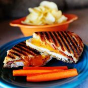 Chicken Bacon Ranch Panini - Pioneer Woman