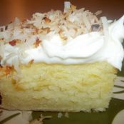 Cake - Coconut - Cream Cheese Sheet Cake