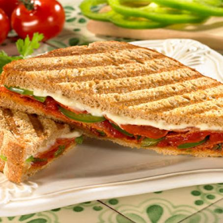 Healthy Pizza Panini