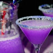 Purple Dragon Martini
