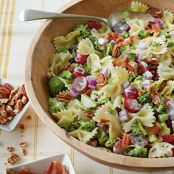 Broccoli Grape & Pasta Salad