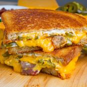 Grilled Cheese w/Jalapeno &Bacon
