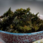 Crispy Chili Kale Chips - Katie Lee