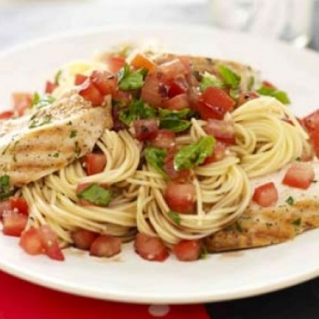 Bruschetta Pasta Recipe