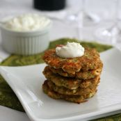 Zucchini and Feta Fritters