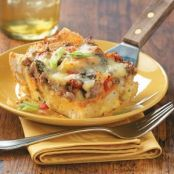Brie & Sausage Brunch Bake