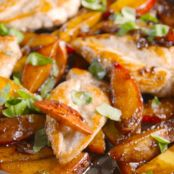 Peach Balsamic Chicken