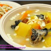 Papaya Soup with American Ginseng & Black Chicken Recipe