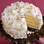 4-Layer Coconut Cake