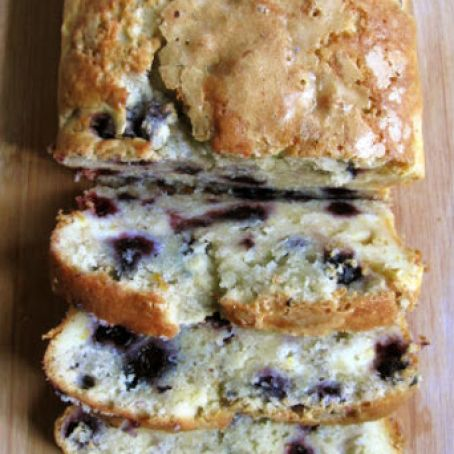 Blueberry Cream Cheese Bread