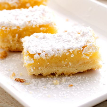 The Best Lemon Square Recipe