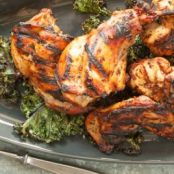 Honey Garlic Grilled Rabbit