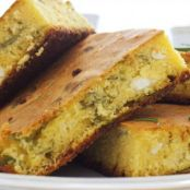 Herb & Garlic Cornbread