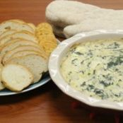 Applebee's Hot Artichoke and Spinach Dip