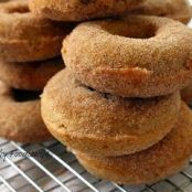 Baked Doughnuts, from King Arthur Flour