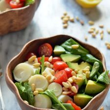 Salad with Honey-Lemon Dressing