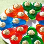 Easter Jell-O Deviled Egg Treat