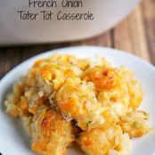 French Onion Tater Tot Casserole
