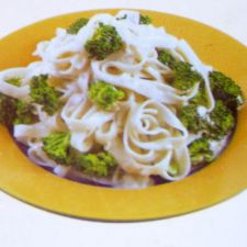 Gorgonzola Notta Pasta with Broccoli