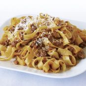 Tagliatelle with Quick Lamb Sugo