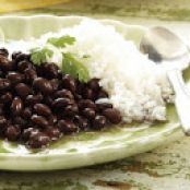 Classic Black Beans and Rice