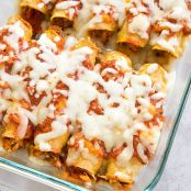 Freezer Chicken Enchiladas