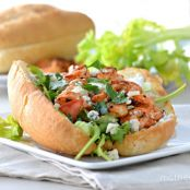 Buffalo Shrimp Sandwiches