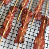 Spiced Bacon Skewers