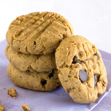 Banana & Peanut Butter Flaxseed Cookies (CE)