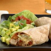 Shredded Turkey and Pinto Bean Burritos