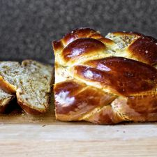 Fig, Olive Oil & Sea Salt Challah