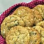 Oatmeal, Walnut and Dried Plum Cookies