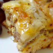 Weekend Biscuit Egg Casserole