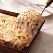 Pasta: Creamy White Chicken and Artichoke Lasagna